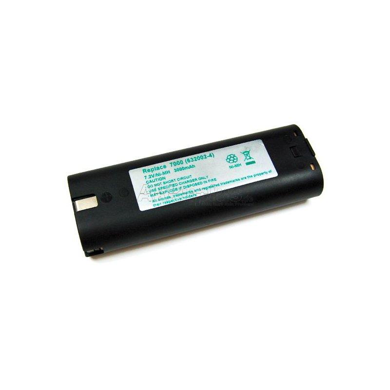 Akku kompatibel zu Makita 7000 - 7,2 Volt 3000mAh Ni-MH