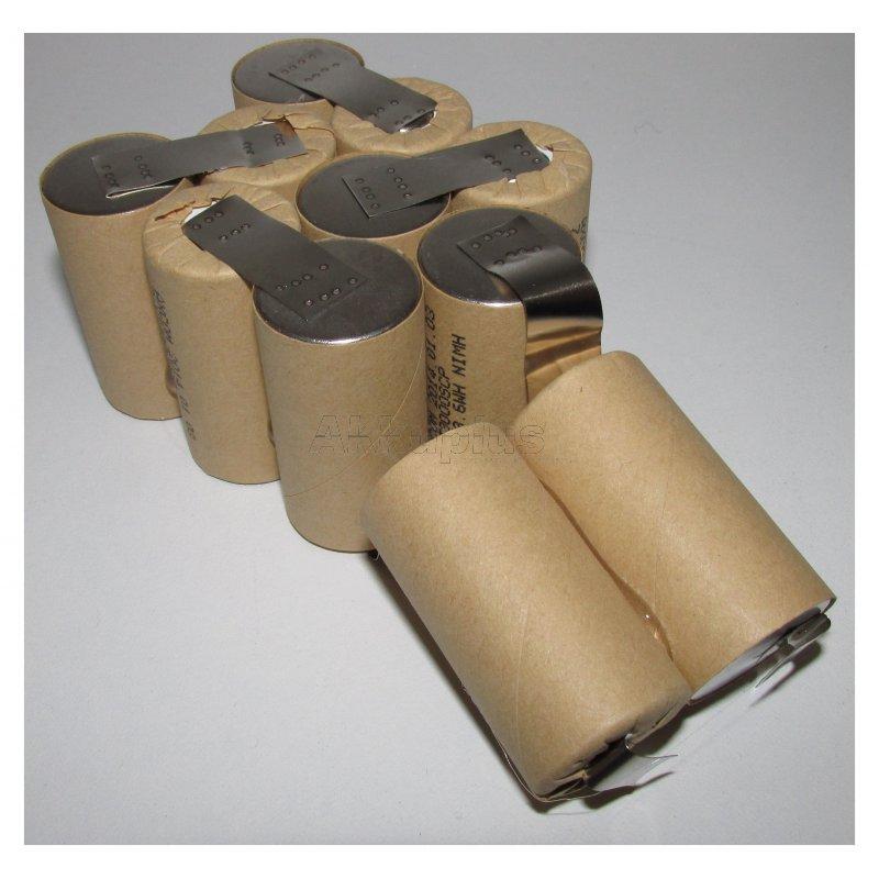 Akkupack für Kress ASX 132 - 13,2 Volt zum Selbsteinbau