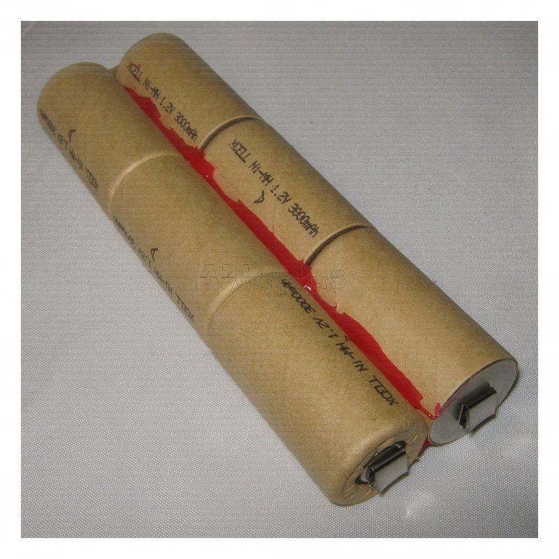 Akkupack für Makita 7000 - 7,2 Volt zum Selbsteinbau