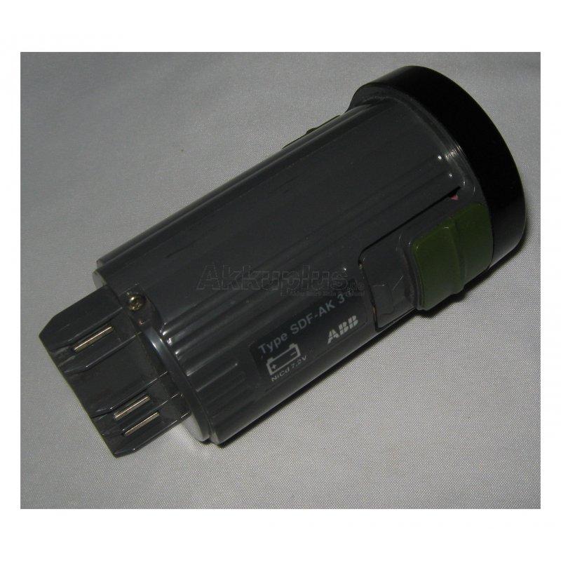 Akkureparatur - Zellentausch - ABB SDF-AK 3 - 7,2 Volt Akku