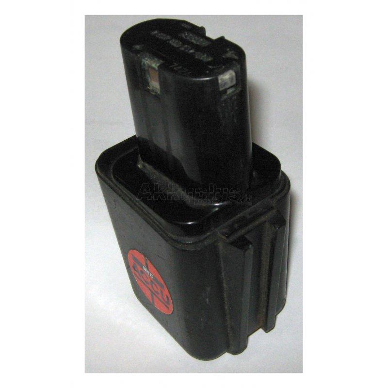 Akkureparatur - Zellentausch - Bosch 2607300002 - 9,6 Volt Akku