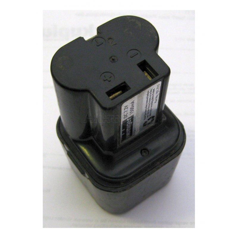 Akkureparatur - Zellentausch - Hitachi EB-2, B-2 - 7,2 Volt Akku