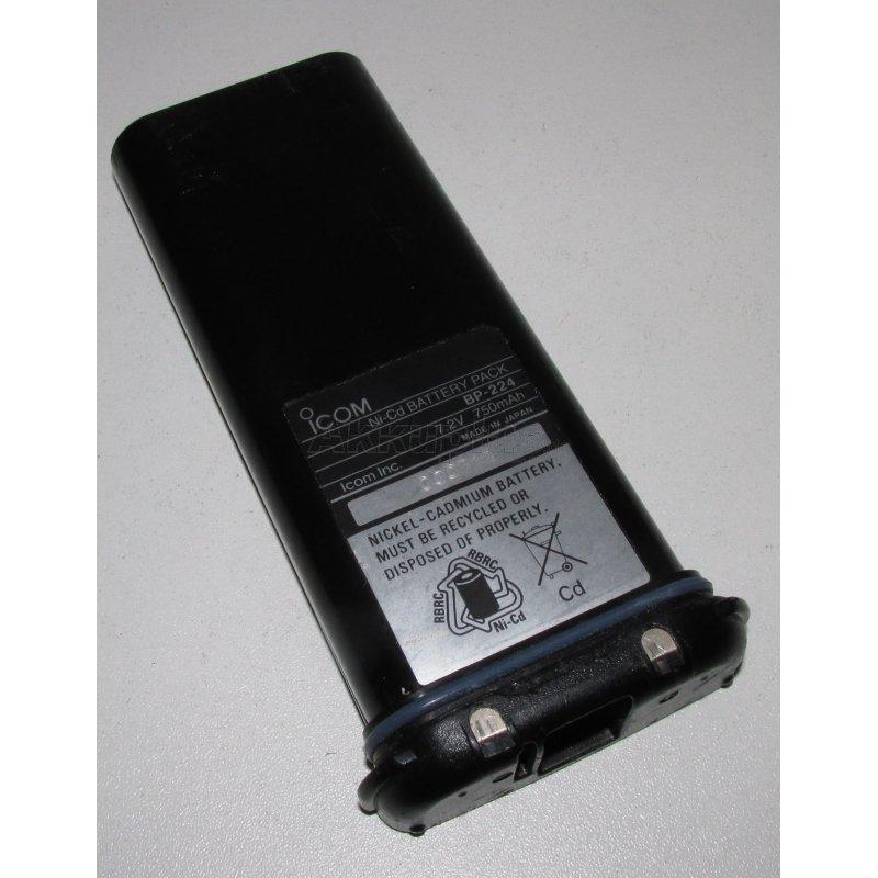 Akkureparatur - Zellentausch - ICOM BP-224 - 7,2 Volt Akku
