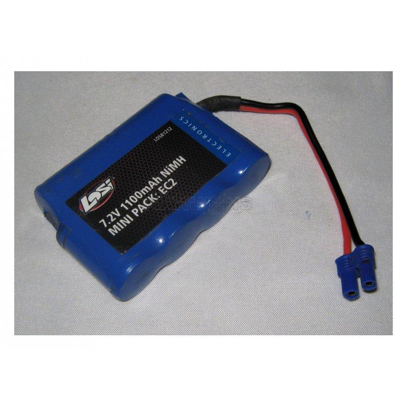 Akkureparatur - Zellentausch - LOSI LOSB1212 - MINI PACK: EC2 - 7,2 Volt Ni-MH