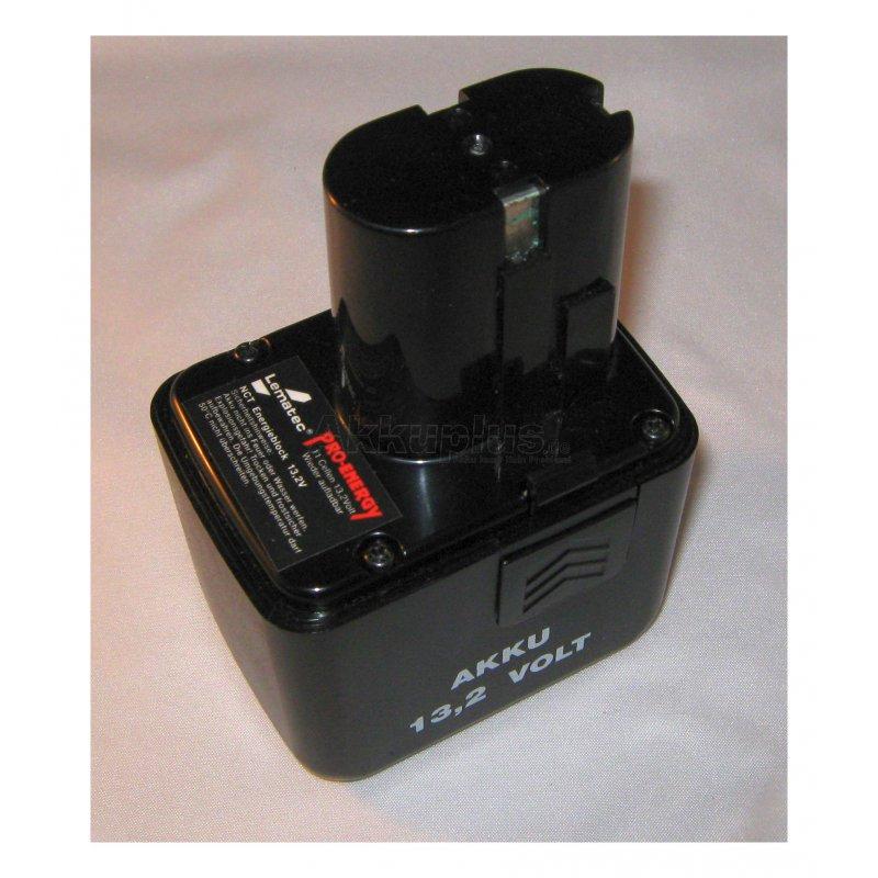 Akkureparatur - Zellentausch - Lematec Pro-Energy - 13,2 Volt Akku