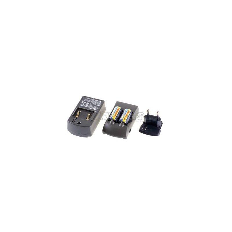 Doppelschachtlader für CR123A-Akku inkl. 2xCR-V123
