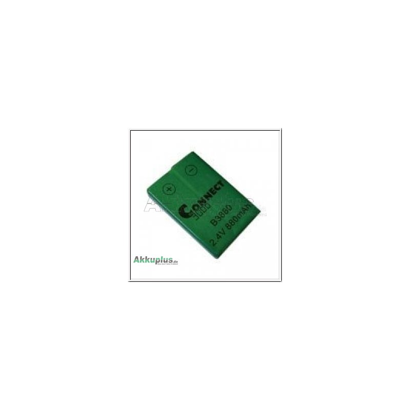 Ersatzakku - Siemens, DeTeWe - B3880 - 2,4 Volt 830 mAh Ni-MH