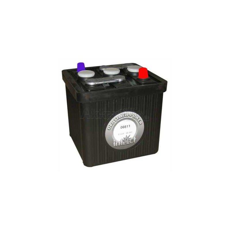 Oldtimer-Power 06611 - 6 Volt 66Ah Pb - KFZ-Start Bleiakku Oldtimerbatterie trocken vorgeladen