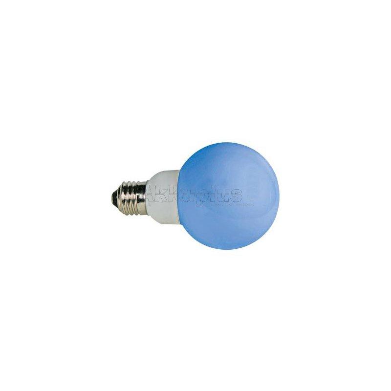 led lampe blau e27 230vac 20 leds akku leer ke. Black Bedroom Furniture Sets. Home Design Ideas