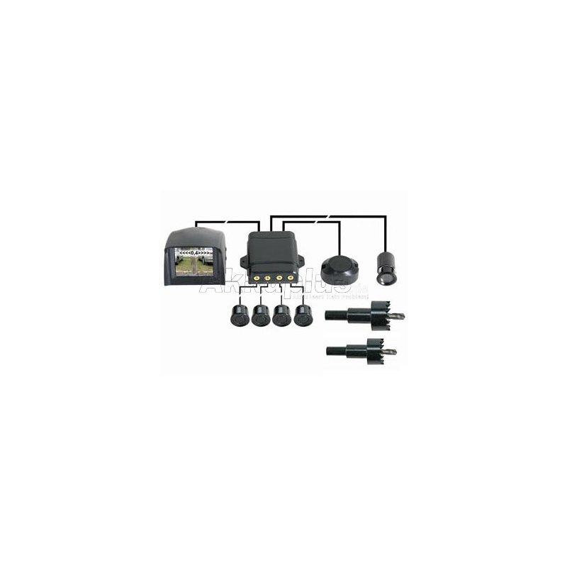 r ckfahrwarnsystem mit kamera monitor summer und 4 sensoren. Black Bedroom Furniture Sets. Home Design Ideas