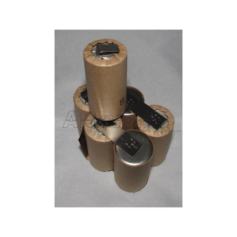 Akkupack für POWERHAND BG-6 - 7,2 Volt zum Selbsteinbau