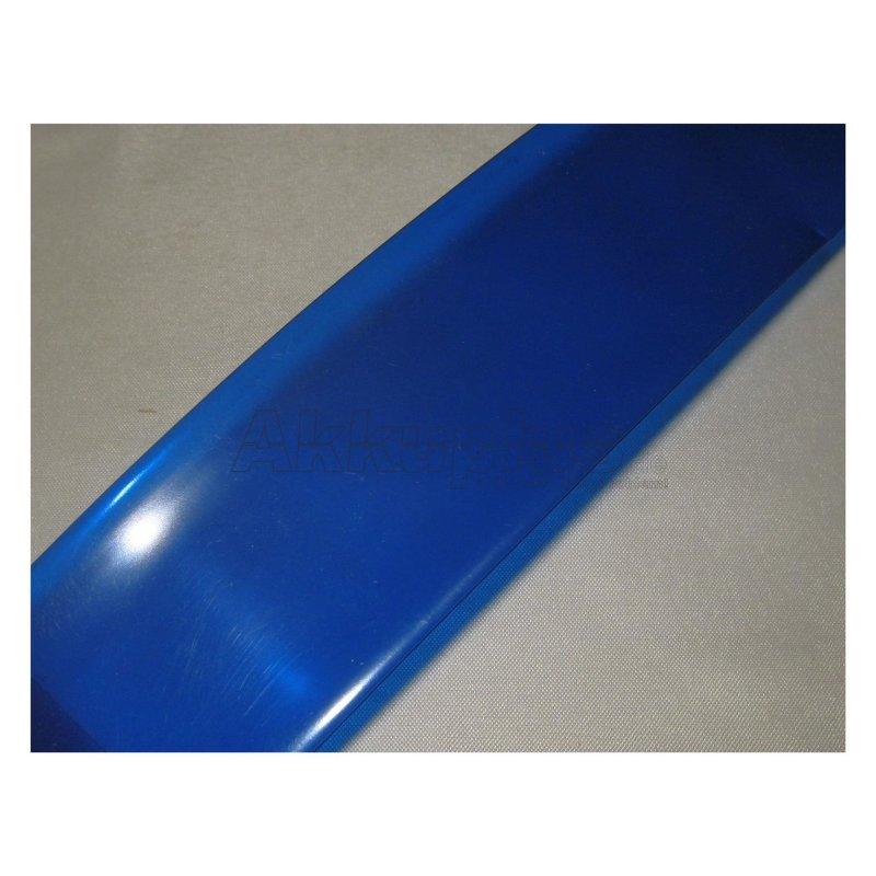 Schrumpfschlauch - blau-transparent - 95mm - 1lfm.