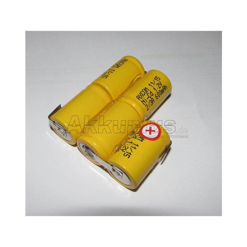 Akkupack für UNIDEN BP2500 - 6 Volt zum Selbsteinbau
