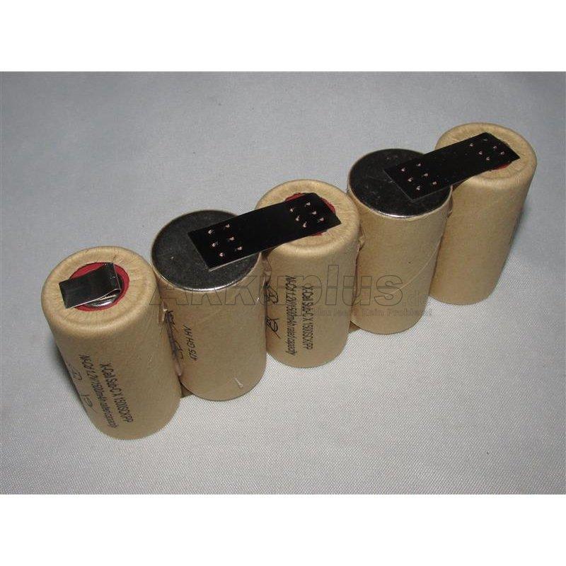 Akkupack für SOMFY 7 10 055 / Bosch - 6 Volt zum Selbsteinbau