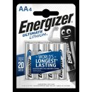 Energizer - Ultimate Lithium - Mignon AA / L91 / 1,5B /...