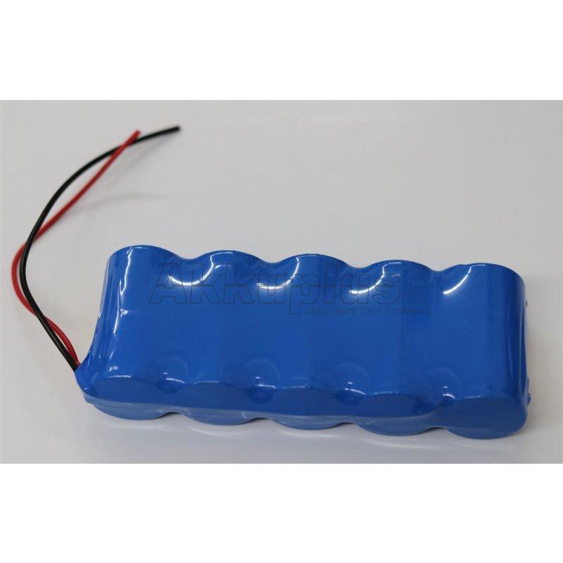 Akkupack für Omega LCD Waage - 6 Volt zum Selbsteinbau