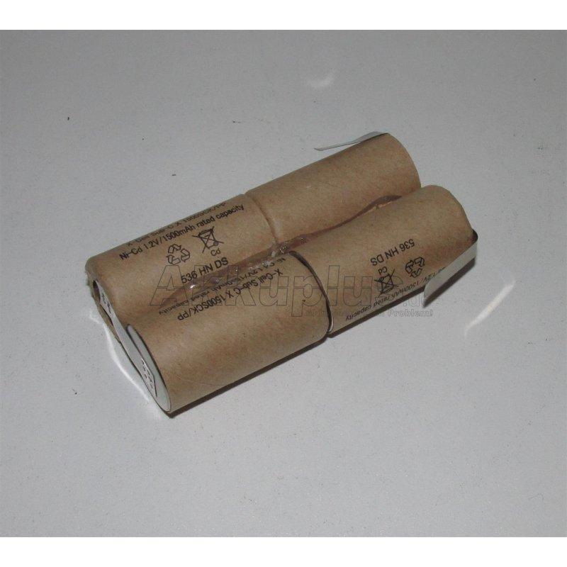 Akkupack für Lervia - Akkubesen, Handstaubsauger - KH 750 - 4,8 Volt - zum Selbsteinbau