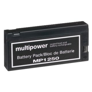 Multipower - MP1250 - 12 Volt 2000mAh Pb