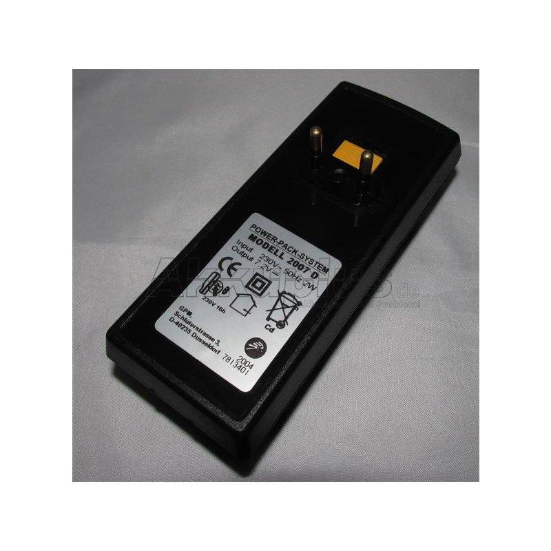 Akkureparatur - Zellentausch - IKRA POWER PACK 7.2 V-2007 D - 7,2 Volt Akku