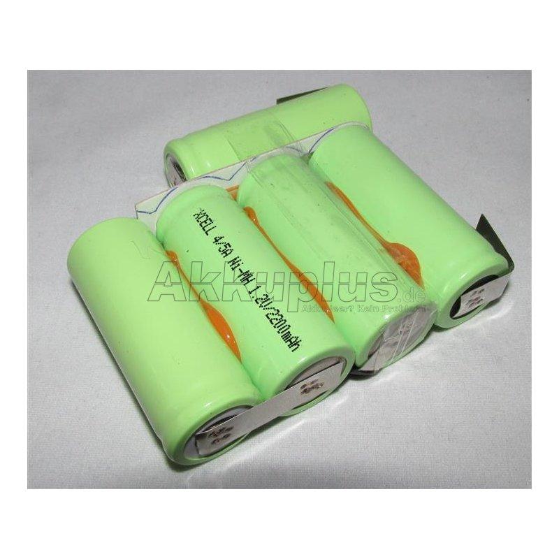 Akkupack für HEINE - Accubox - S5Z - X-04.99.623 - 6 Volt zum Selbsteinbau