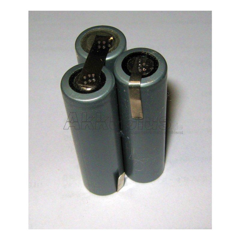 Akkupack für Practus MNCD24-80KA-564595 / 05W39 - 3,6 Volt zum Selbsteinbau