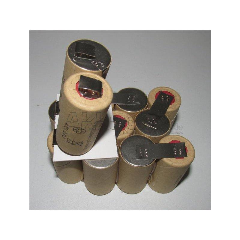 Akkupack für ASGATEC 1025003 - 14,4 Volt zum Selbsteinbau