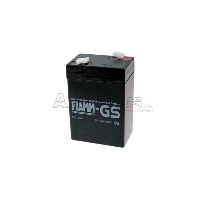 FG10451 - 6 Volt 4,5 Ah Pb