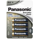 Panasonic - Everyday - Mignon AA LR6 -  4er Blister