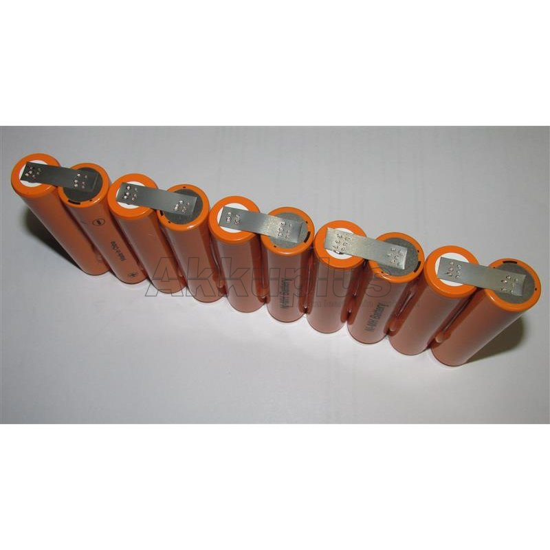 Akkupack für Welch Allyn / MRL Super pac - 12 Volt Ni-MH - zum Selbsteinbau