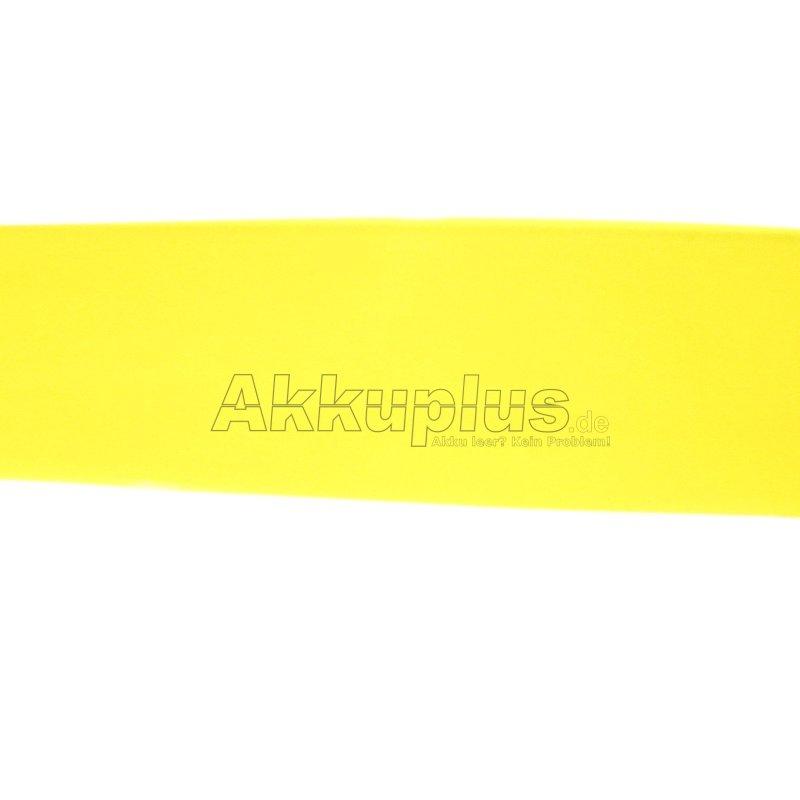 Schrumpfschlauch - 37,0 x 0,1mm - gelb-transparent - 1lfm.