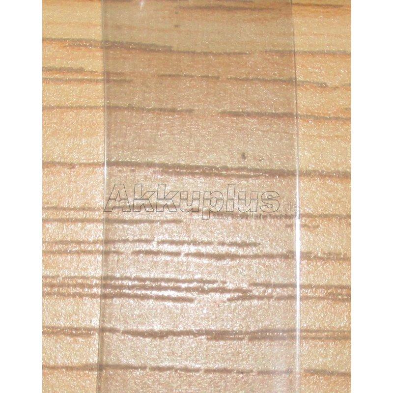 Schrumpfschlauch - 87,0 x 0,1mm - transparent - 1lfm.
