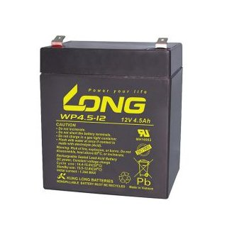 Long - WP4.5-12 - 12 Volt 4500mAh Pb