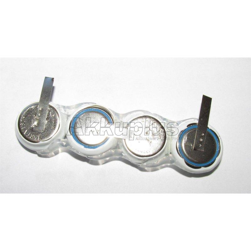 Akkupack 4/V80H - 4,8 Volt 80mAh Ni-MH