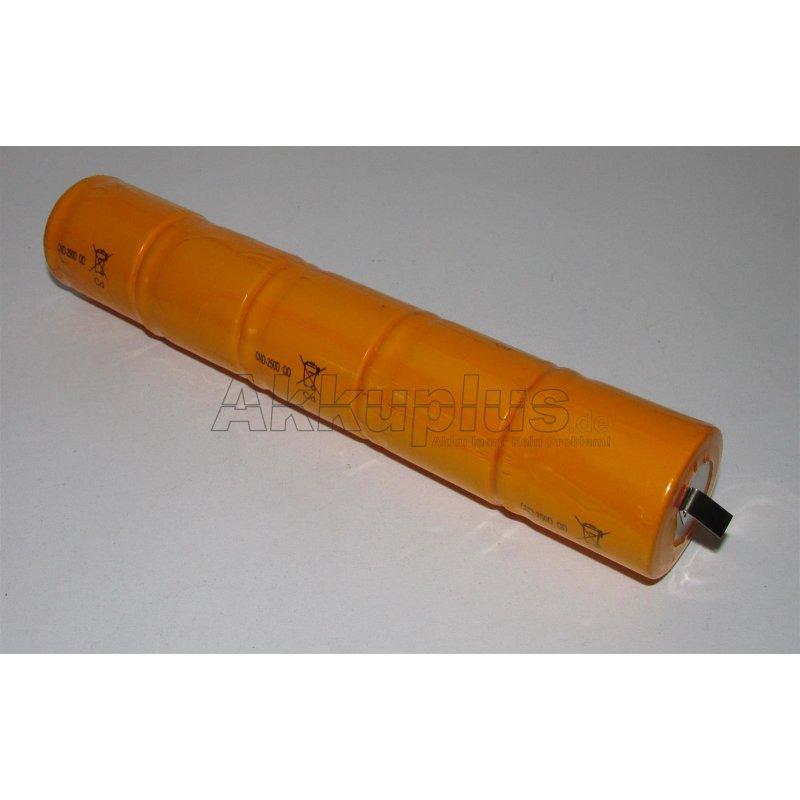 Akkupack für Tauchlampe 5N2000 1/2D - 6 Volt zum Selbsteinbau