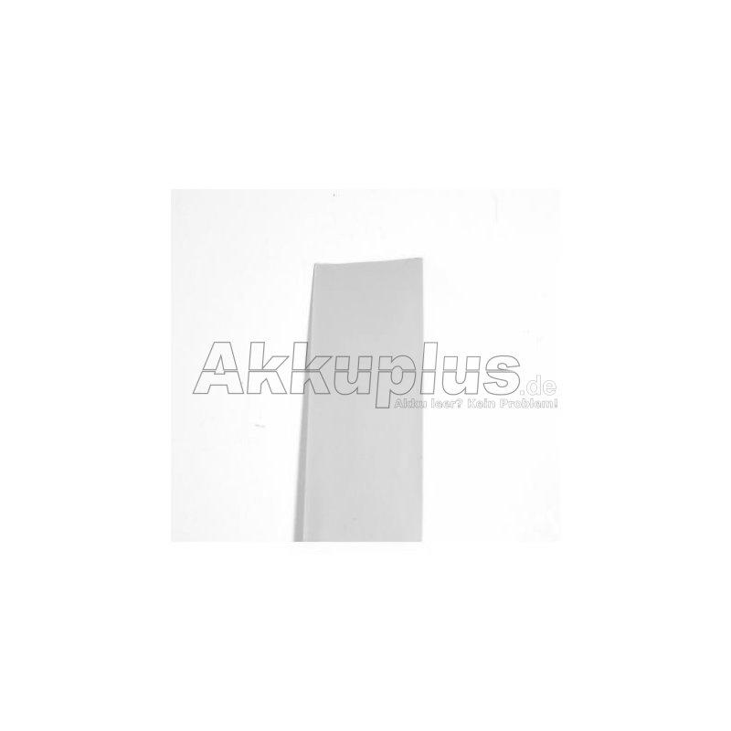 Schrumpfschlauch PVC 37,0x0,1mm transparent - 1lfm.
