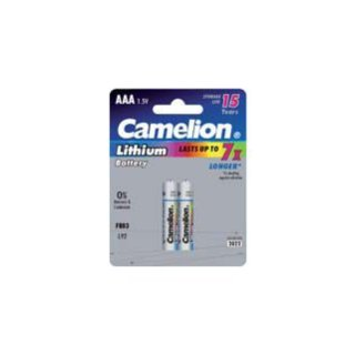 Camelion - Lithium Battery - Micro AAA 1,5 Volt - 2er Blister