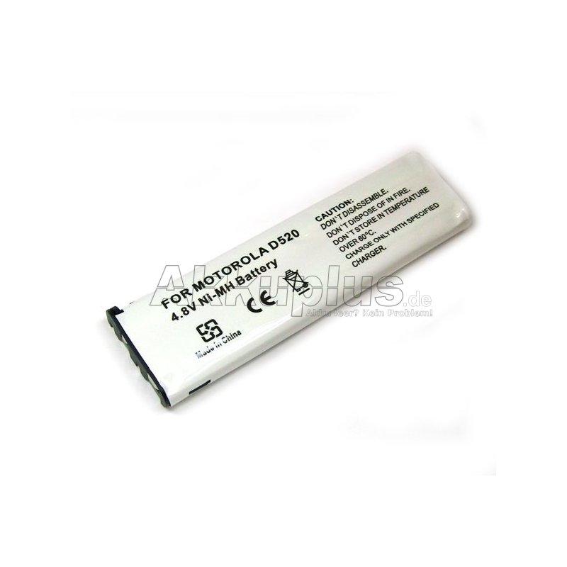 Ersatzakku für Motorola D520, D560 - 4,8 Volt 700mAh Ni-MH
