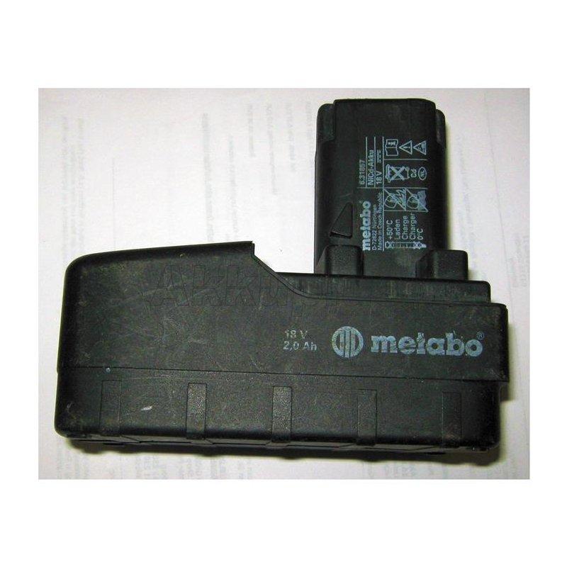 Akkureparatur - Zellentausch - Metabo 6.31857 - 18 Volt Akku
