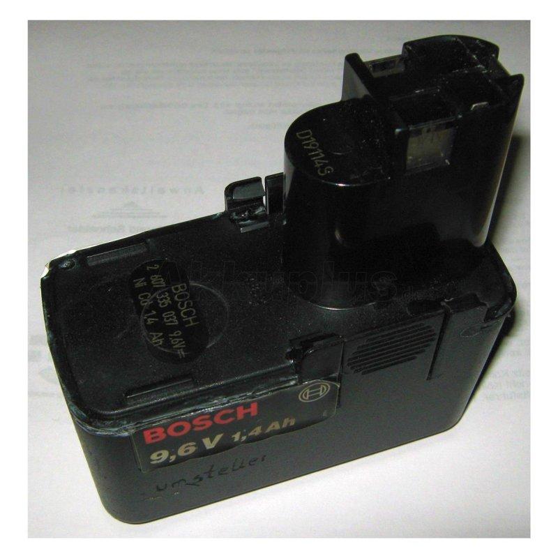 Akkureparatur - Zellentausch - Bosch 2607335037 - 9,6 Volt Akku