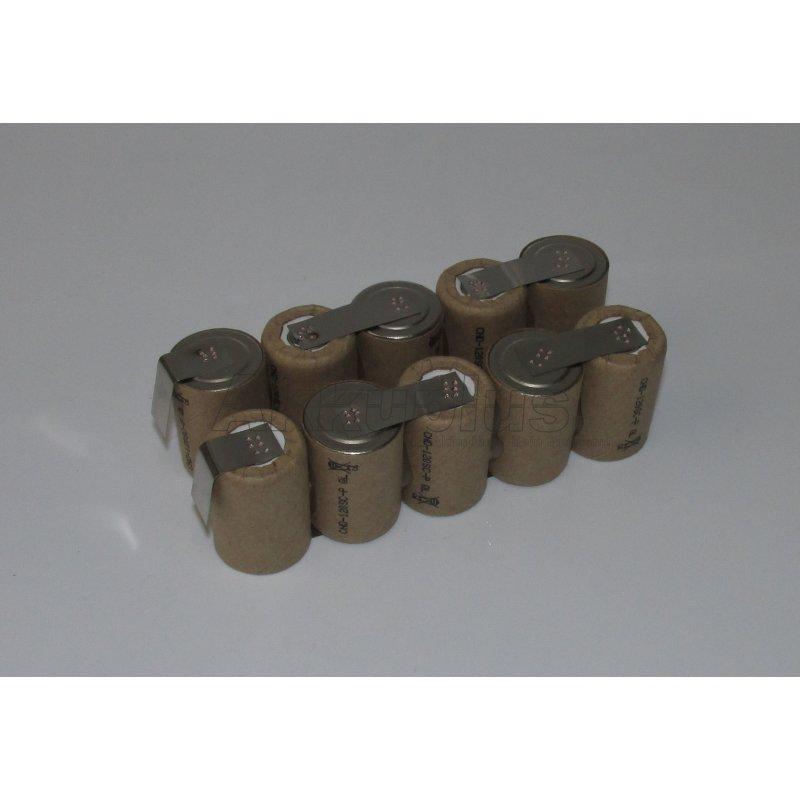 Akkupack für FESTOOL BPS 12 C - 4/5SC - 12 Volt zum Selbsteinbau