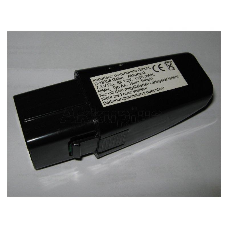 Akkureparatur - Zellentausch - Swivel Sweeper Akkubesen - 7,2 Volt Ni-MH