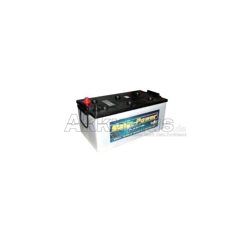 Solar power SP 250 - 12 Volt 250Ah Pb - gefüllt & geladen