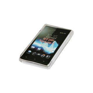 Silicon Case (S-Curve) Sony ST26i Xperia J transparent
