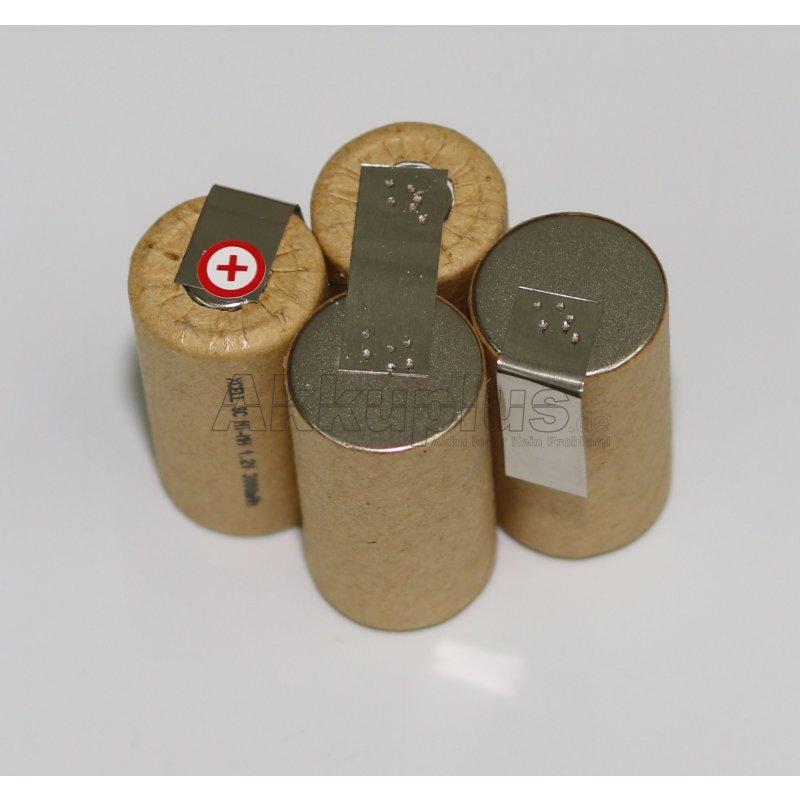 Akkupack für Kärcher Akkubesen K55 - 4,8 Volt zum Selbsteinbau