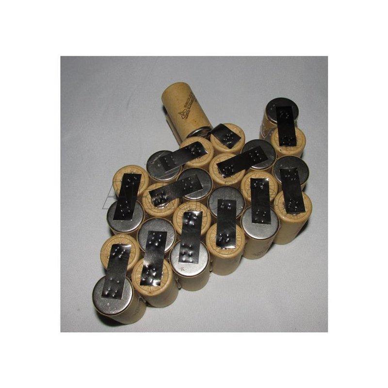 Akkupack für Practus NPK 30-2563559 - 30 Volt zum Selbsteinbau
