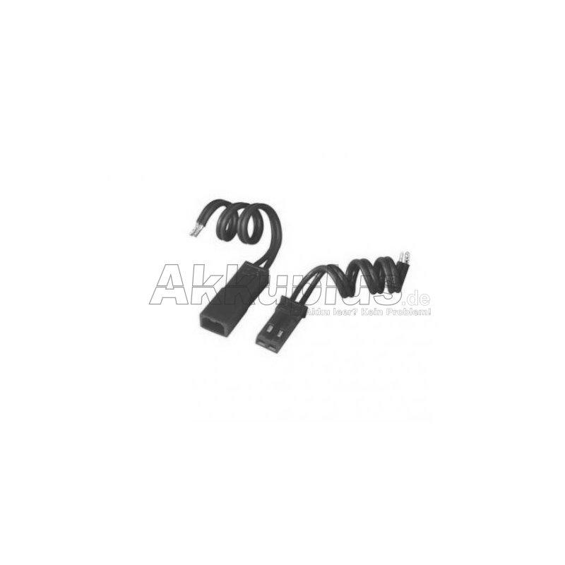 JST - BEC-Kabelset - Buchse und Stecker mit Ableiter ca. 10cm (einfarbig)