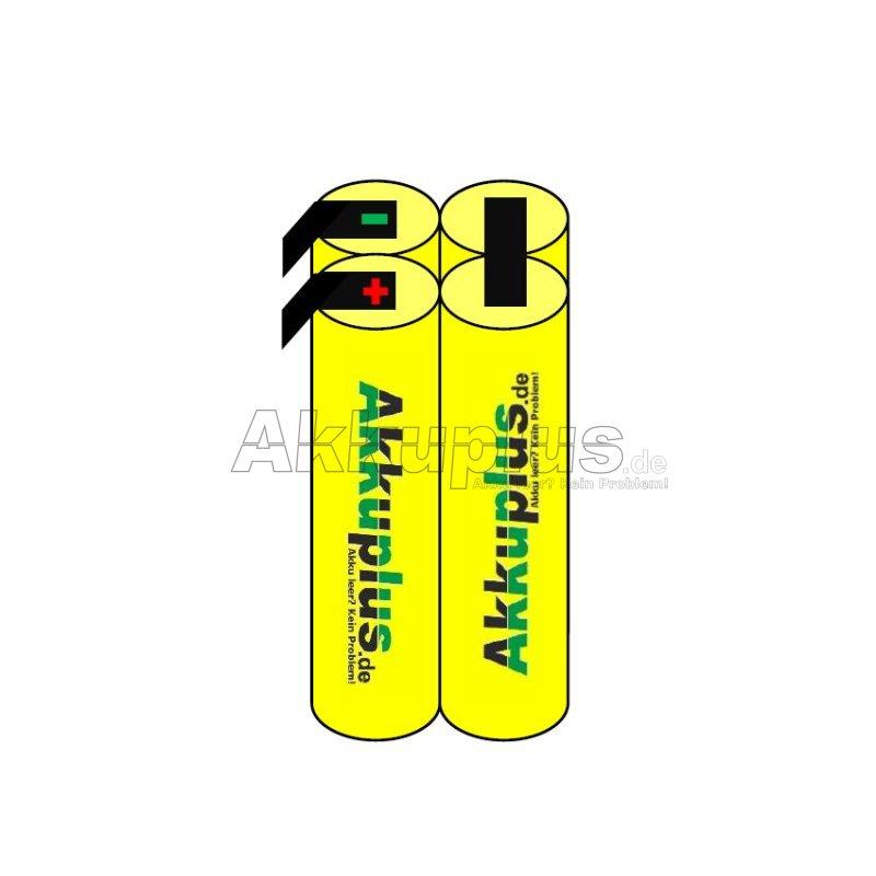 Akkupack - F2x2 (Würfel) - 4,8 Volt Ni-MH - zum Selbsteinbau