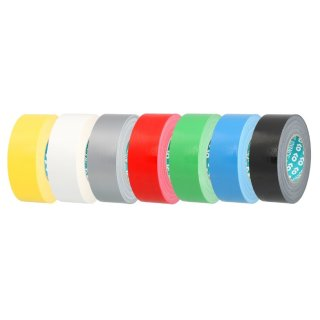 Advance Tapes - Gewebeband PE-beschichtet gelb, 50mm x 50m