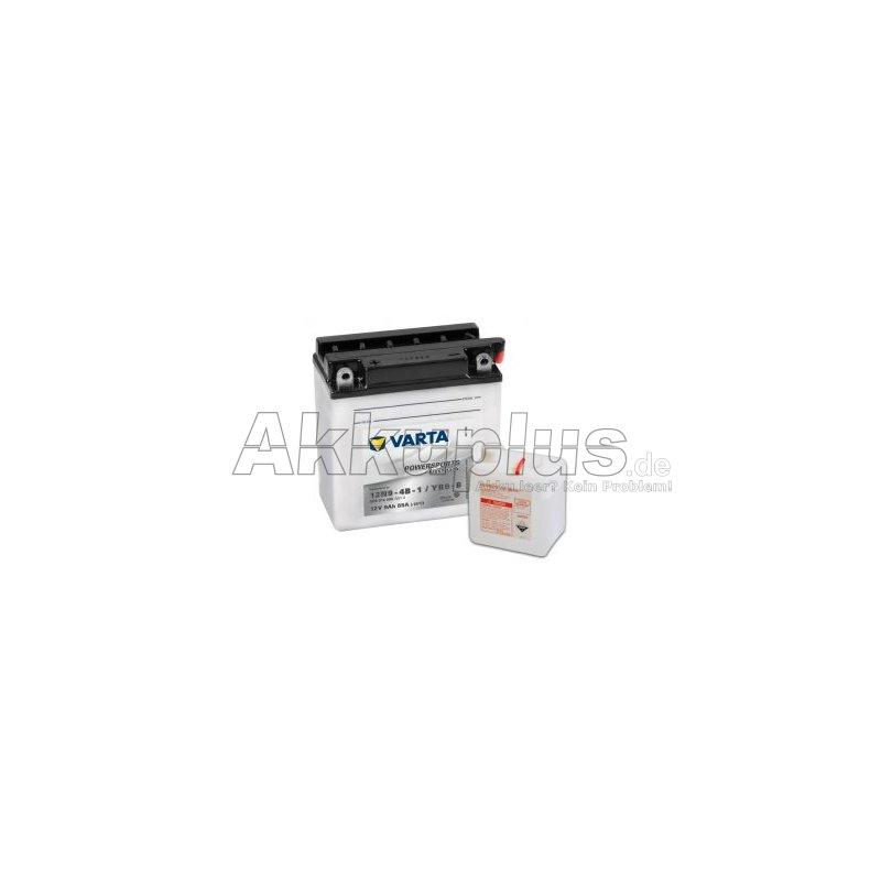 Powersports Freshpack - 12N9-4B-1 / YB9-B - 12 Volt 9000mAh Pb