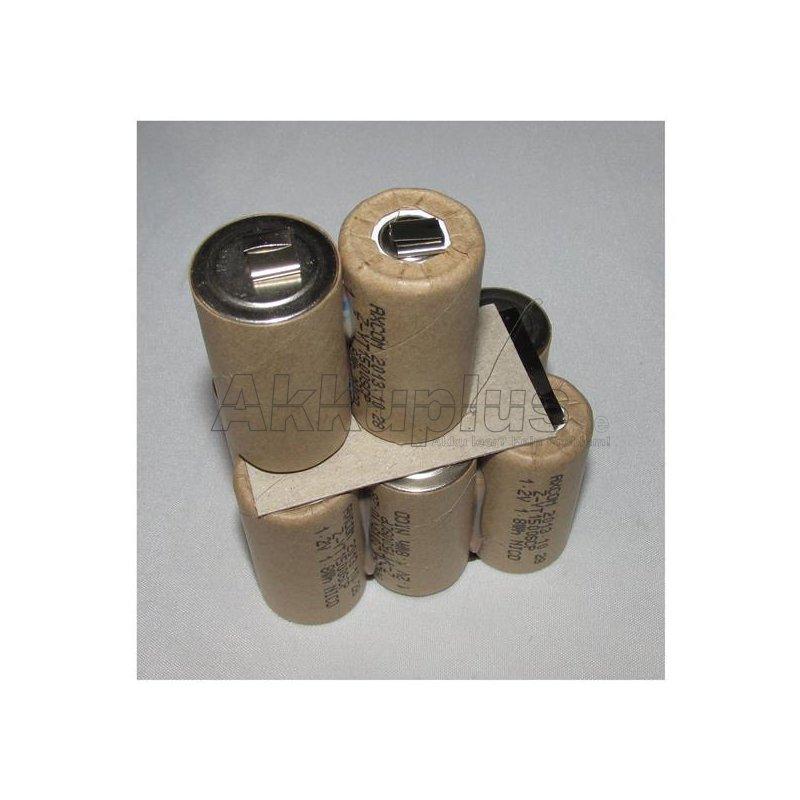 Akkupack für Einhell 910011 / Lematec CPT PP - 9,6 Volt zum Selbsteinbau